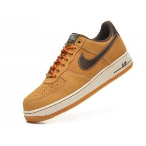 Men's Nike Air Force One Low Wheat